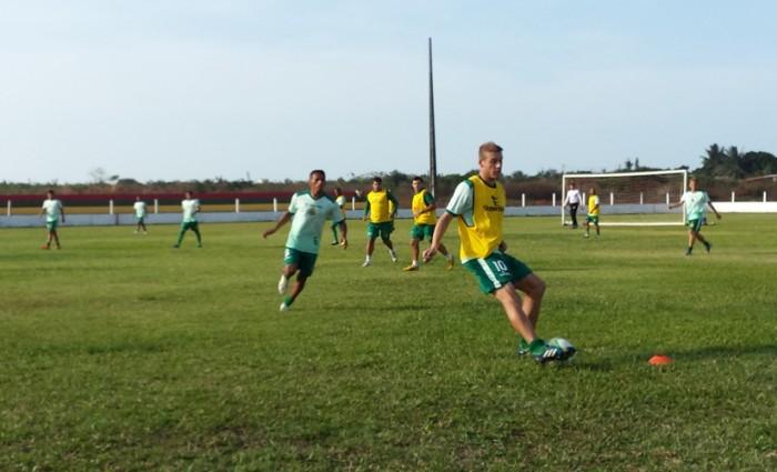 Uillian Correia é um dos jogadores mais regulares do Sampaio