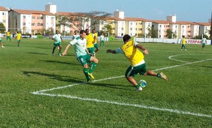 Time fez último treino em São Luís antes do embarque