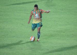 Cleitinho marcou o gol do Sampaio