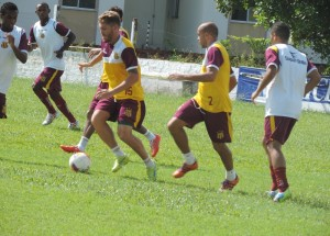 Equipe do Sampaio se reapresenta na tarde desta segunda
