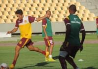 Equipe do Sampaio fez uma série de atividades no estádio Castelão.