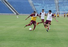 Tricolor realizou treino tático no Castelão