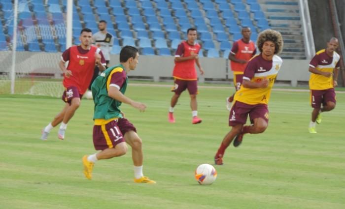 Equipe Tricolor treinou no Castelão