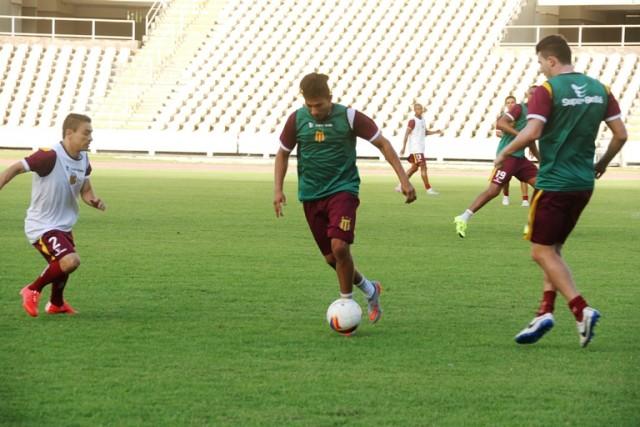 Equipe Tricolor realizou coletivo no Castelão