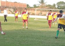 """Tricolor fechou a preparação com o """"rachão"""""""