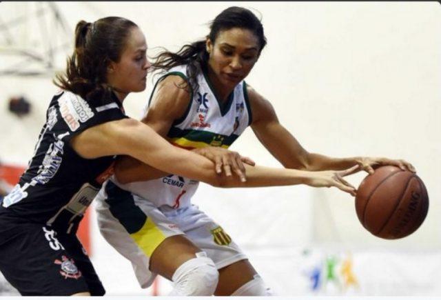 Iziane foi eleita MVP das finais (Foto: Divulgação)