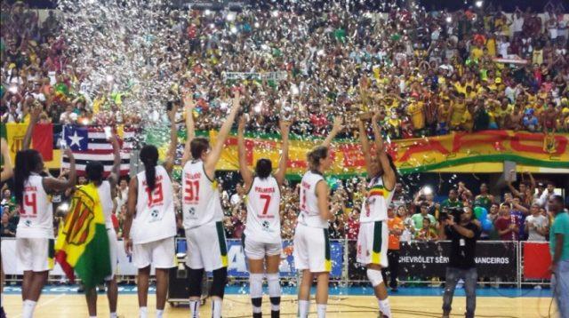 Sampaio campeão nacional de basquete