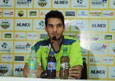 Lucas Sotero quer equipe empenhada em buscar  mais três pontos