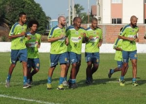 Equipe Tricolor se reapresentou esta manhã