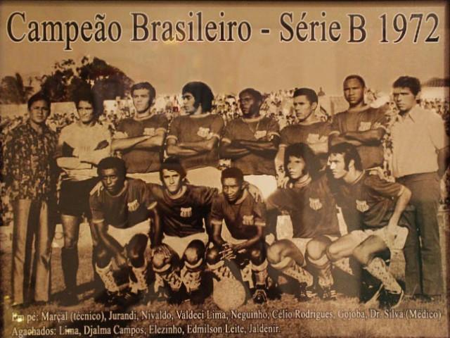 Campeão Brasileiro Série B 1972