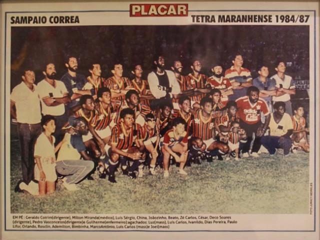 Campeão Maranhense 1987