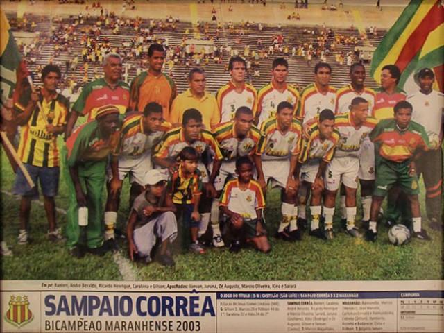 Campeão Maranhense 2003