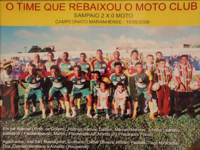 O time que rebaixou o Moto Clube 2009