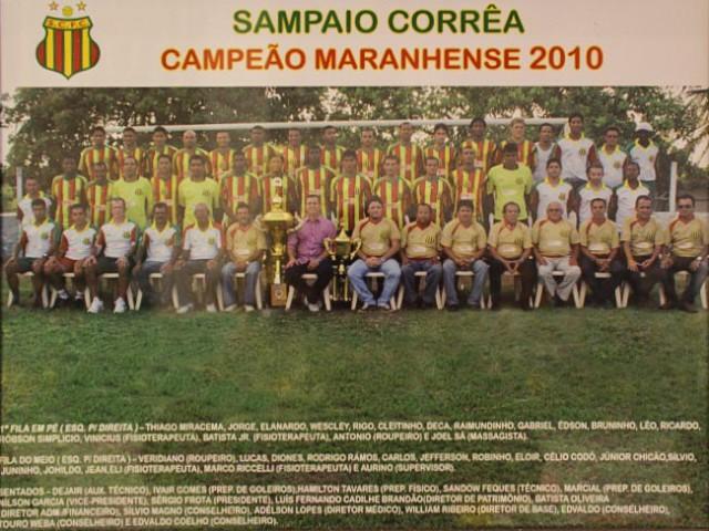 Campeão Maranhense 2010