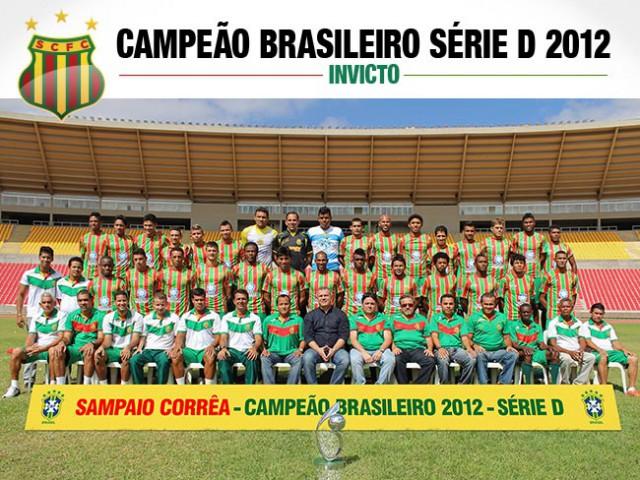 Campeão Brasileiro Série D (INVICTO)