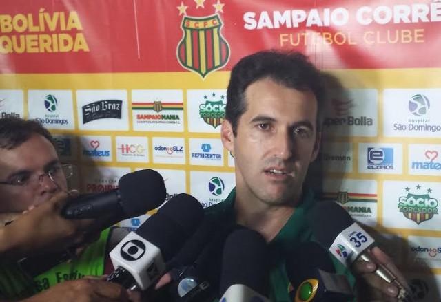 Condé destacou a bravura do Sampaio pela vitória