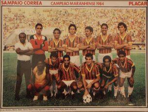 Campeão Torneio Governador Luís Rocha 1984