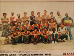 Campeão Maranhense 1985