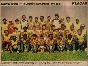 Campeão Maranhense 1986