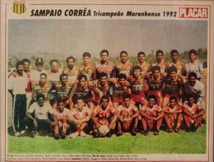 Campeão Maranhense 1992