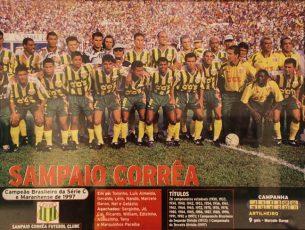 Campeão Brasileiro Série C (INVICTO) 1997