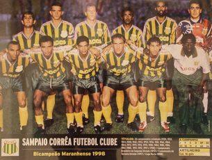Campeão Copa Norte 1998
