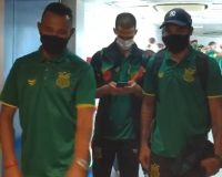 Delegação Tricolor seguiu viagem para duelo contra o Operário/PR (Foto: Reprodução)