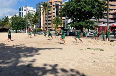 Tricolor realiza treino físico em Maceió